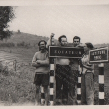 Equator Crossing January 1956