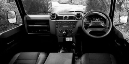 Land Rover Defender 110 XS Interior