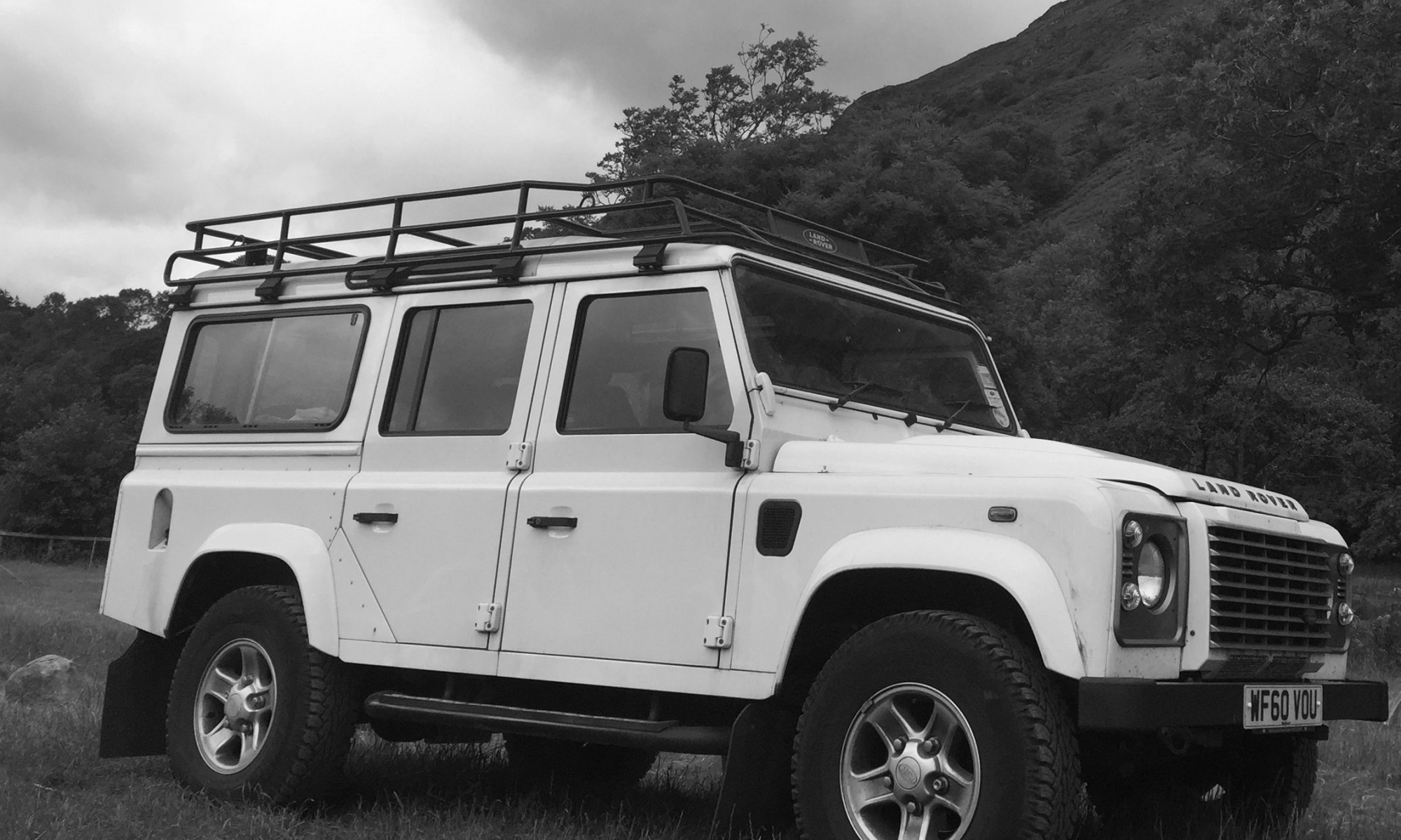 About - Land Rover Defender Wedding